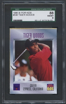 1996 Sports Illustrated for Kids II #536 Tiger Woods SGC 88