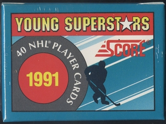 1991/92 Score Young Superstars Hockey Factory Set Lot of 2