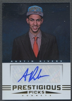 2012/13 Prestige #54 Austin Rivers Prestigious Picks Signatures Rookie Auto