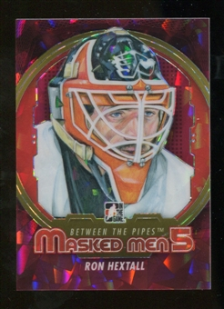 2012/13 In the Game Between The Pipes Masked Men V Rainbow #MM18 Ron Hextall