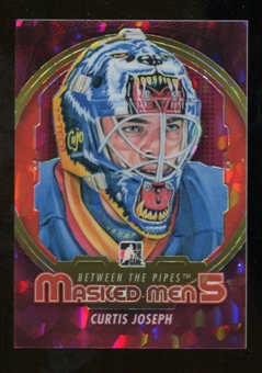 2012/13 In the Game Between The Pipes Masked Men V Rainbow #MM21 Curtis Joseph