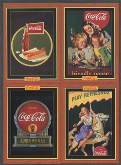 Coca-Cola Series 4 Complete Set (1995 Collect-A-Card)