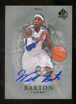 2012/13 Upper Deck SP Authentic Autographs #36 Will Barton E Autograph