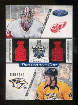 2012/13 Panini Certified Path to the Cup Quarter Finals Dual Jerseys #18 Andrei Kostitsyn/Jimmy Howard /250