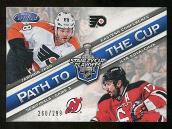 2012/13 Panini Certified Path to the Cup Semifinals #19 Ilya Kovalchuk/Jaromir Jagr /299