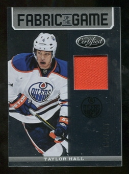 2012/13 Panini Certified Fabric of the Game #88 Taylor Hall /299