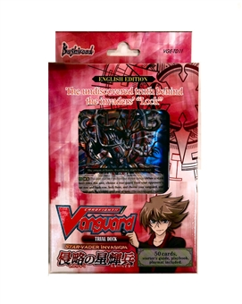 Bushiroad Cardfight Vanguard Star-Vader Invasion Trial Deck