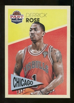 2012/13 Panini Past and Present Variations #5 Derrick Rose
