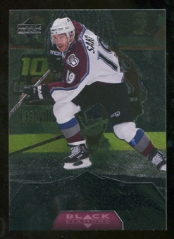 2007/08 Upper Deck Black Diamond #174 Joe Sakic