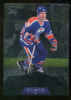 2007/08 Upper Deck Black Diamond #177 Mark Messier