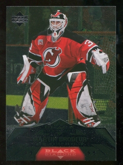 2007/08 Upper Deck Black Diamond #179 Martin Brodeur