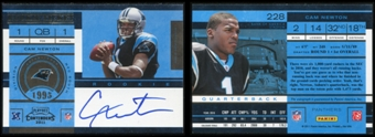 2011 Playoff Contenders #228A Cam Newton Auto RC