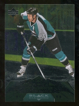 2007/08 Upper Deck Black Diamond #185 Joe Thornton