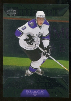 2007/08 Upper Deck Black Diamond #190 Jack Johnson