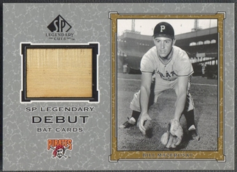 2001 SP Legendary Cuts #DBM Bill Mazeroski Debut Game Bat