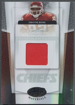 2007 Leaf Certified Materials #210 Dwayne Bowe Rookie Jersey #0187/1499