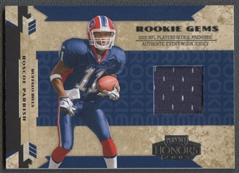 2005 Playoff Honors #224 Roscoe Parrish Rookie Jersey #219/750