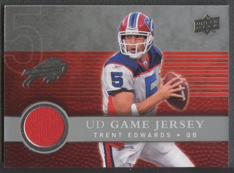 2008 Upper Deck #UDGJTE Trent Edwards Game Jersey