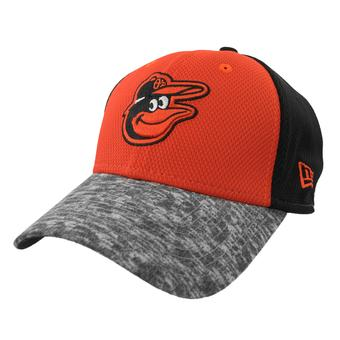 Baltimore Orioles New Era 39Thirty Orange & Black Tech Stir Flex Fit Hat (Adult S/M)