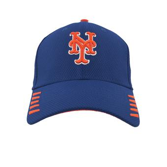 New York Mets New Era 39Thirty Blue Tech Grade Flex Fit Hat (Adult M/L)