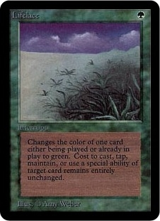 Magic the Gathering Alpha Single Lifelace - NEAR MINT (NM)