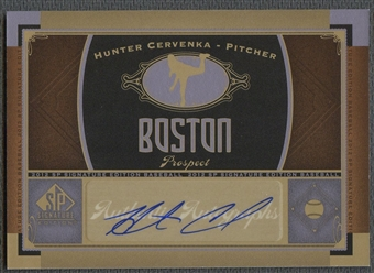 2012 SP Signature #BOS29 Hunter Cervenka Auto