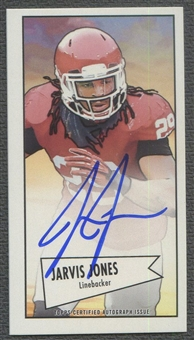 2013 Bowman #52BJJ Jarvis Jones Mini Rookie Auto SP