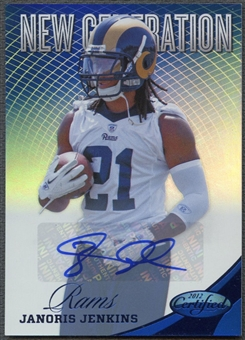 2012 Certified #275 Janoris Jenkins Mirror Blue Signatures Rookie Auto #46/49