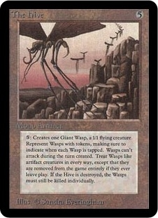 Magic the Gathering Alpha Single The Hive - NEAR MINT (NM)