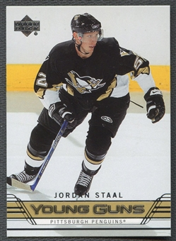2006/07 Upper Deck #239 Jordan Staal Young Gun Rookie