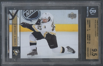 2006/07 Upper Deck #155 Sidney Crosby BGS 9.5