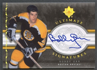 2006/07 Ultimate Collection #USOR Bobby Orr Signatures Auto