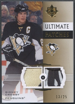 2007/08 Ultimate Collection #UPSC Sidney Crosby Patch #13/25