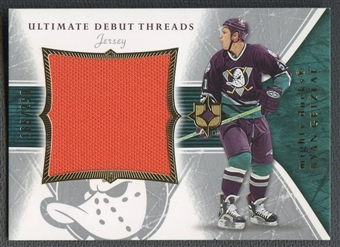2005/06 Ultimate Collection #DTJRG Ryan Getzlaf Ultimate Debut Threads Rookie Jersey #165/250