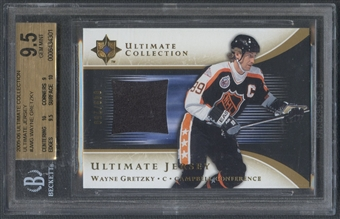 2005/06 Ultimate Collection #JWG Wayne Gretzky Jersey #049/250 BGS 9.5