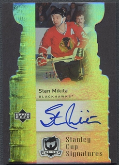 2006/07 The Cup #CSSM Stan Mikita Stanley Cup Signatures Auto #17/25