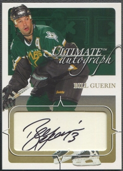 2003/04 BAP Ultimate Memorabilia #27 Bill Guerin Gold Auto #24/35