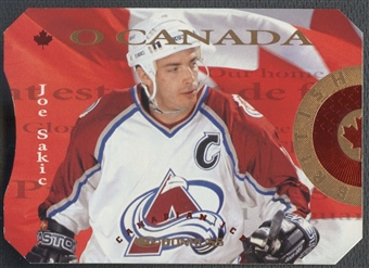 1996/97 Donruss Canadian Ice O Canada #1 Joe Sakic #0664/2000