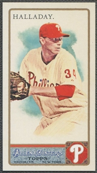 2011 Topps Allen and Ginter #355 Roy Halladay Mini EXT