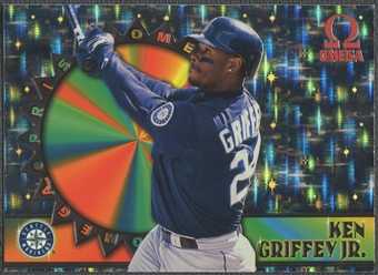1998 Pacific Omega #9 Ken Griffey Jr. Prisms