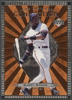 1997 Upper Deck #LD9 Barry Bonds Long Distance Connection