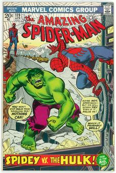 Amazing Spider-Man #119 VF