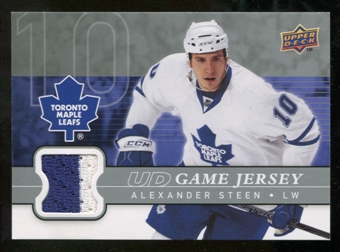 2008/09 Upper Deck Game Jerseys #GJAL Alexander Steen