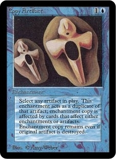 Magic the Gathering Alpha Single Copy Artifact - SLIGHT PLAY (SP)