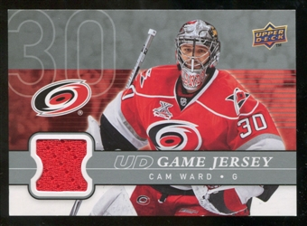 2008/09 Upper Deck Game Jerseys #GJCW Cam Ward