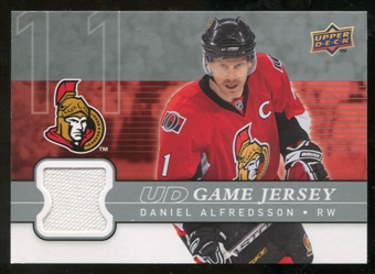 2008/09 Upper Deck Game Jerseys #GJDA Daniel Alfredsson