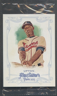 2013 Topps Allen and Ginter #54 B.J. Upton Hidden Box Topper #1/1