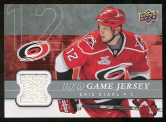 2008/09 Upper Deck Game Jerseys #GJES Eric Staal