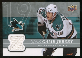 2008/09 Upper Deck Game Jerseys #GJJR Jeremy Roenick