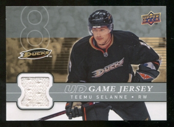 2008/09 Upper Deck Game Jerseys #GJTS Teemu Selanne